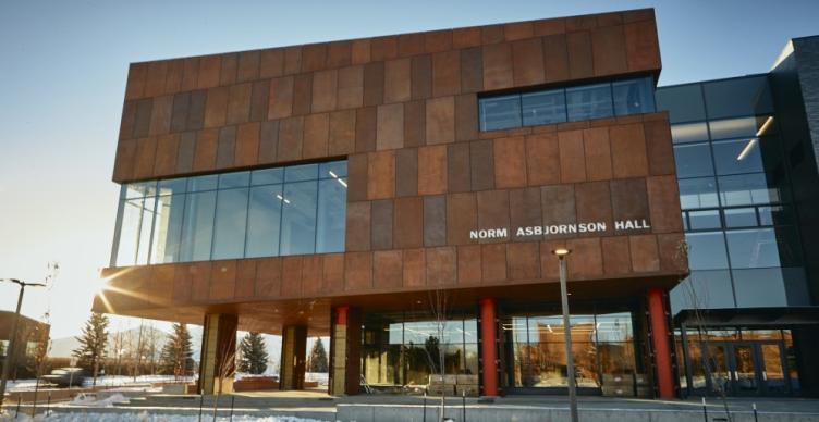 Photo of Norm Asbjornson Hall, Montana State University